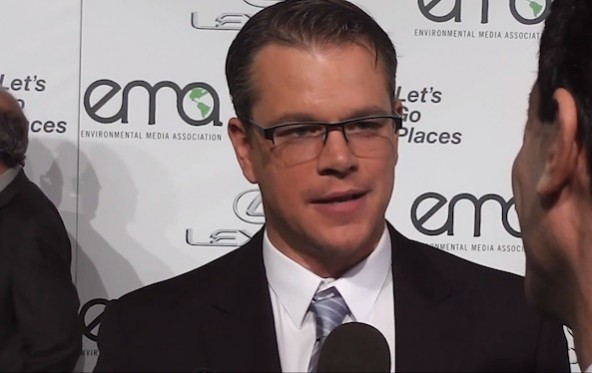 Actor, Matt Damon, Promotes the Vegan Diet
